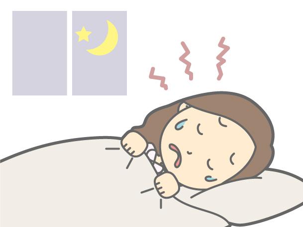 寝汗がひどいのは病気のせい?原因と対処法を紹介します!